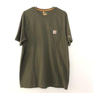 Carhartt Large Tall Relaxed Fit Short Sleeve Shirt